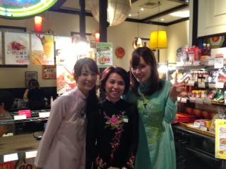 TBS女子アナとフォンさん