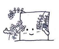 お花に囲まれたら壁蔵だってちょっとシャイになる。